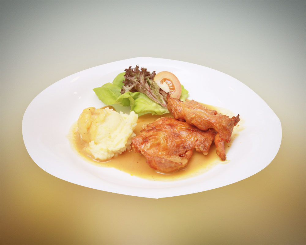 AA01. Grilled Spicy BBQ Chicken